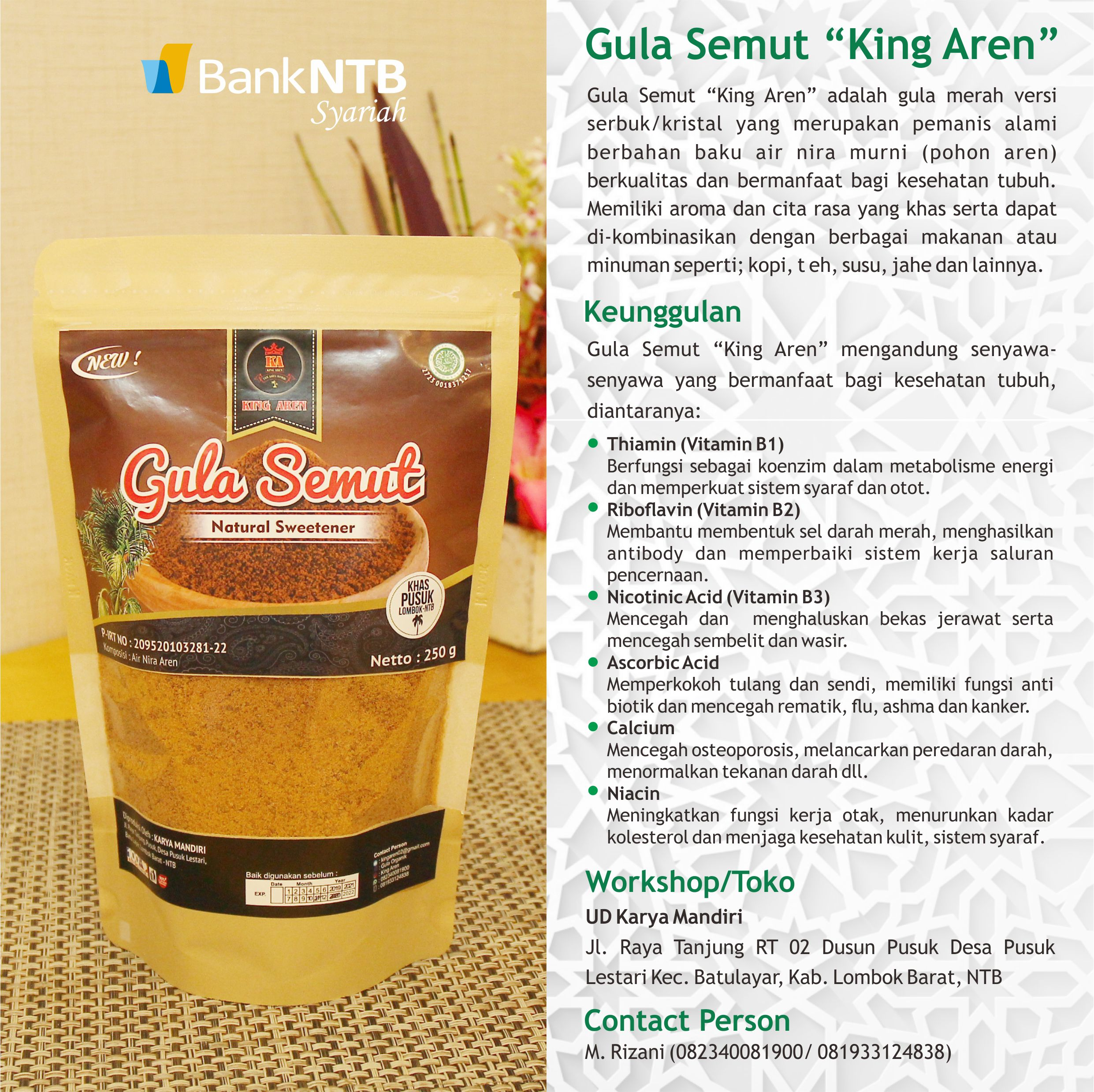 Gula_Semut_King_Aren_