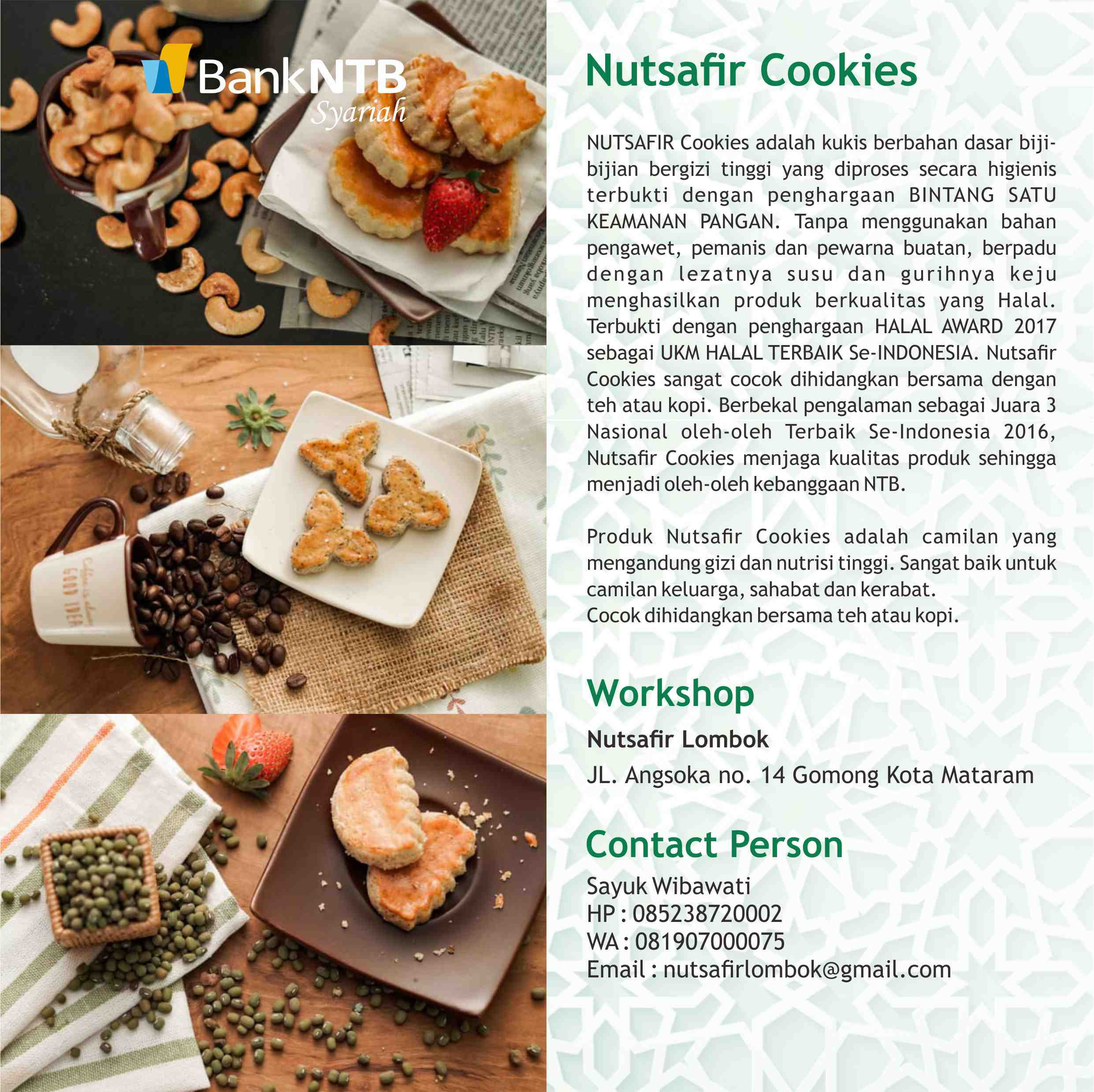 Nutsafir-Cookies