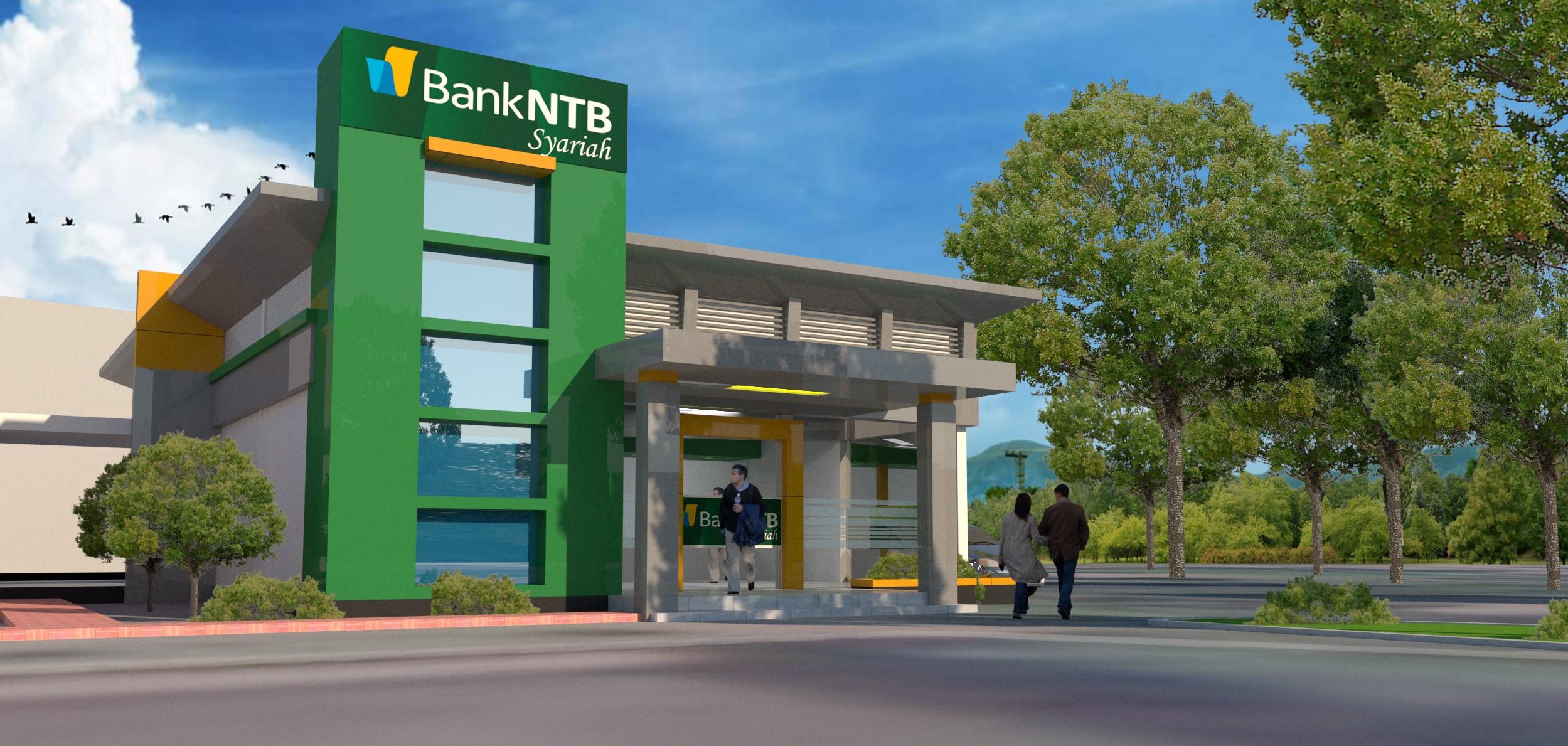 Peletakan-Batu-Pertama-Kantor-Layanan-Purnabakti-Bank-NTB-Syariah