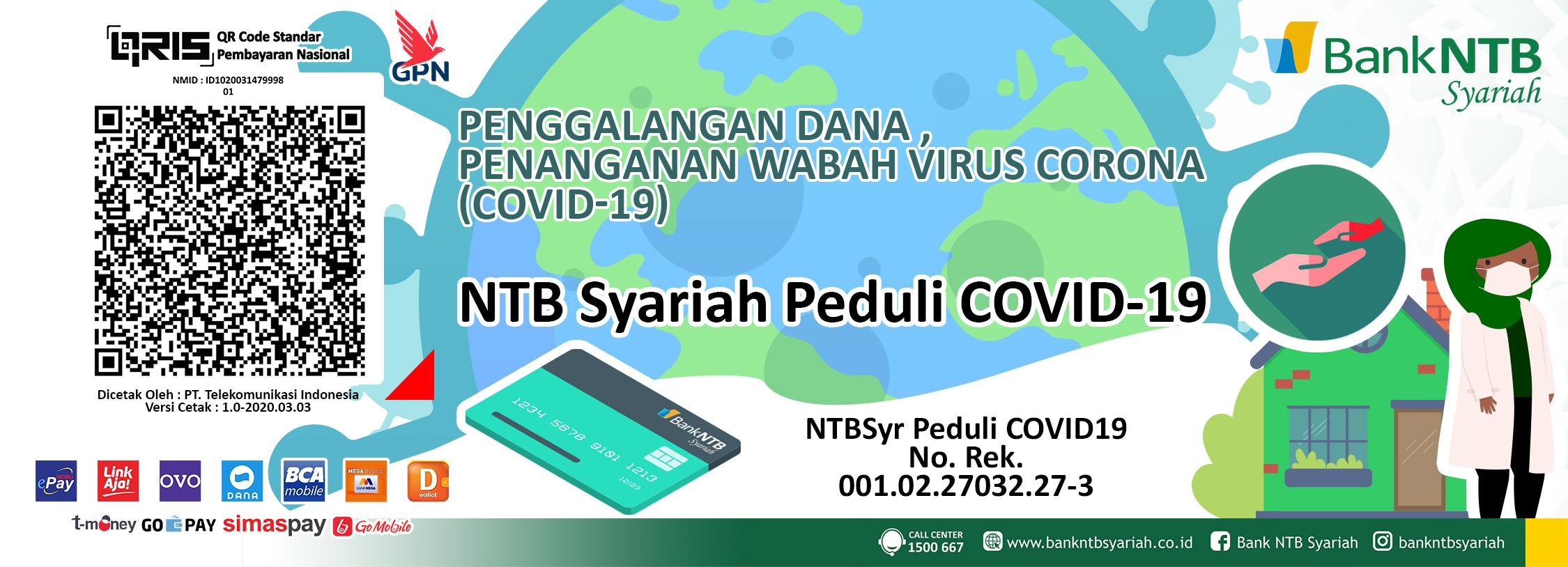Penggalangan Dana, Penanganan Wabah Virus Corona (Covid-19)